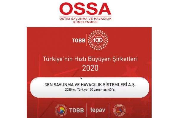 Türkiyenin En Hızlı Büyüyen 40. Şirketi Olduk